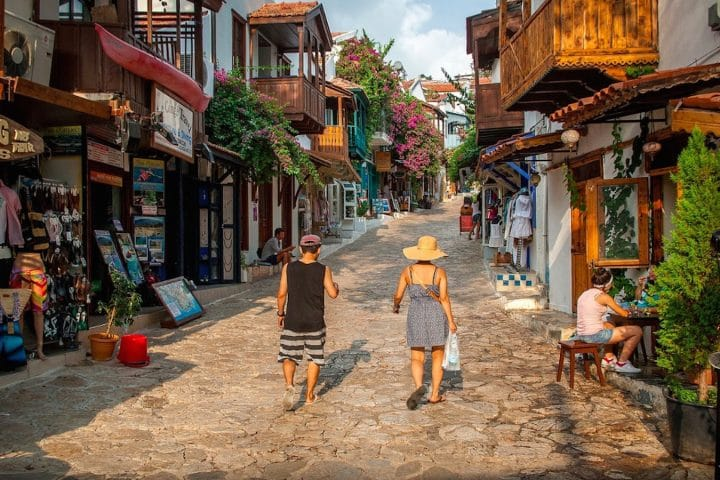 Dalyan Excursion - Mediterranean Highlights - Kas Uzun Çarsı Street