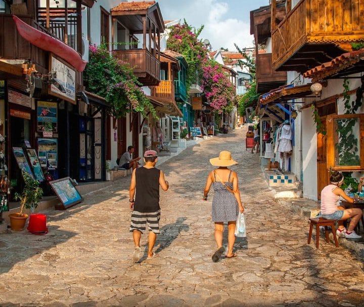 Dalyan Excursion - Mediterranean Highlights - Kas Uzun Çarsı Street