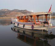 Volkan's Adventures Dalyan Bird Watching trip - Our Boat