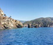Sailing around the Islands