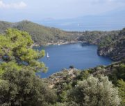 Dalyan trekking - Dalaman Kapidag penninsula - Beautiful sea view