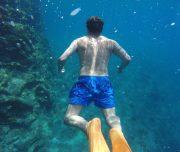 Dalyan Snorkelling - Underwater swimming