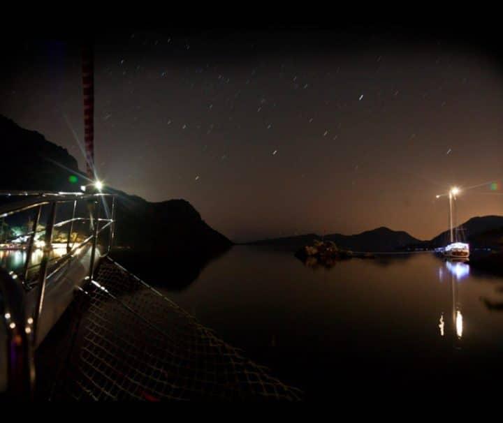 Moonlight Sailing and Music