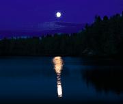 Dalyan Moonlight Boat Trip - Moon Setting