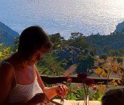 Dalyan Sunset -Enjoying tasty food