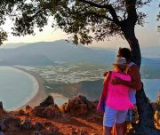 Dalyan Sunset - Looking at the view