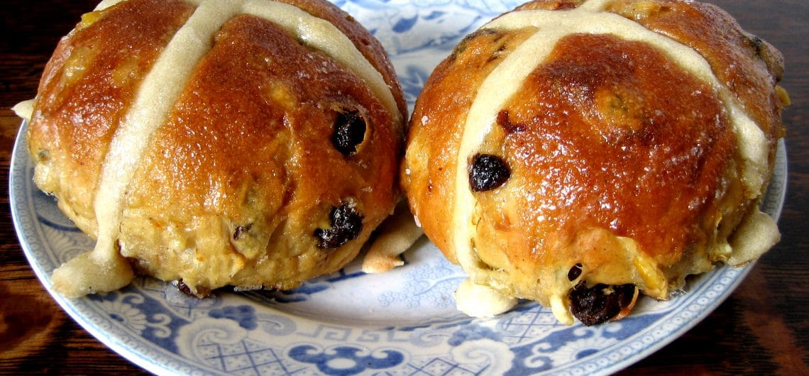 Hot Cross Buns - Ready to eat