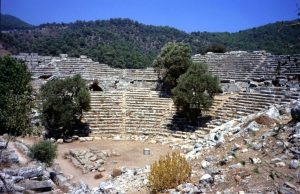 antic theatre in Caunos