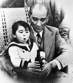 Ataturk and Children