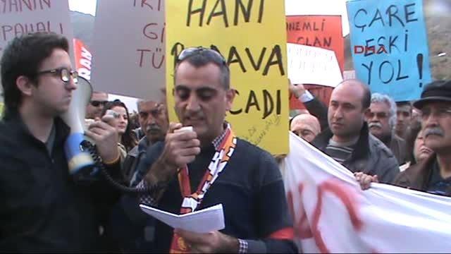 Gocek toll rise protests public statement read