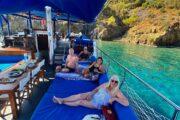 Gocek Beyon the 12 Islands Sailinhg with Dalyan Volkan's Adventures - 14