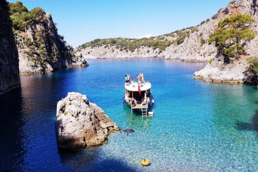 Dalyan Volkans Adventures - Devils Bays Boat Trip - 12