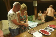 Volkan's Adventures Noon to Moon Boat Trip - People Enjoy Themselves 6