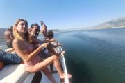 Volkan's Adventures Noon to Moon Boat Trip - People Enjoy Themselves 12