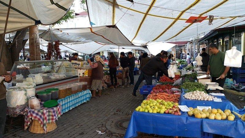 Saturday Market in Dalyan