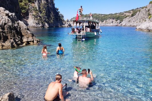 Devils Bays Boat Trip - Volkan's Adventures - Unique and Exclusive Dalyan Tours - Secluded Bays