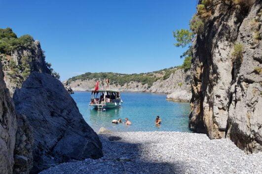 Devils Bays Boat Trip - Volkan's Adventures - Unique and Exclusive Dalyan Tours - Beautiful Coves