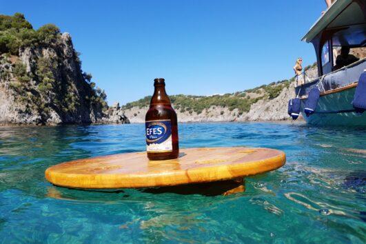 Devils Bays Boat Trip - Volkan's Adventures - Unique and Exclusive Dalyan Tours - Efes on a tray