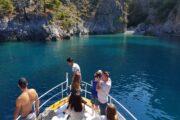 Devils Bays Boat Trip - Volkan's Adventures - Unique and Exclusive Dalyan Tours - Picturesque azur color Deep Waters
