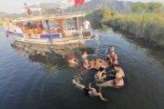 Volkan's Adventures Noon to Moon Boat Trip - People Enjoy Themselves 23