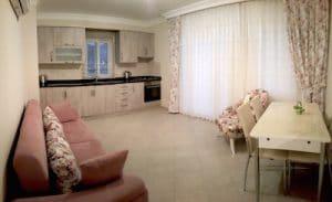 Rosie's apartment Living room