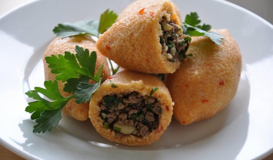 Home Made Boiled Stuffed Kibbah