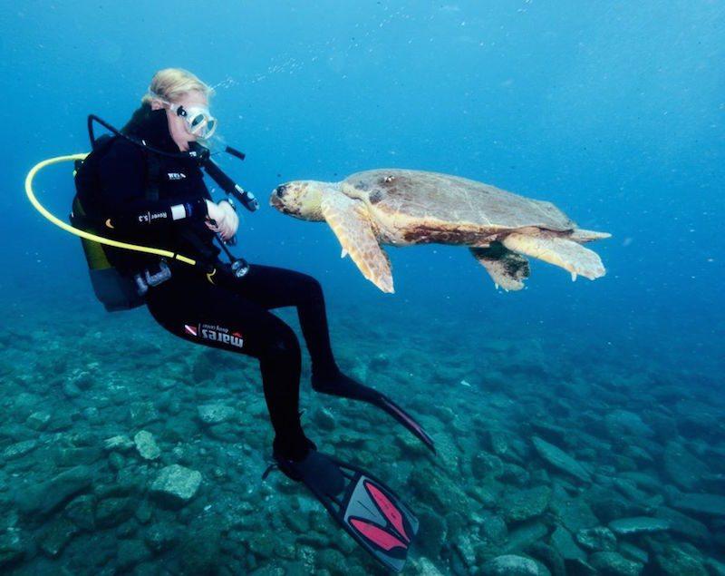 Diving in Dalyan 3