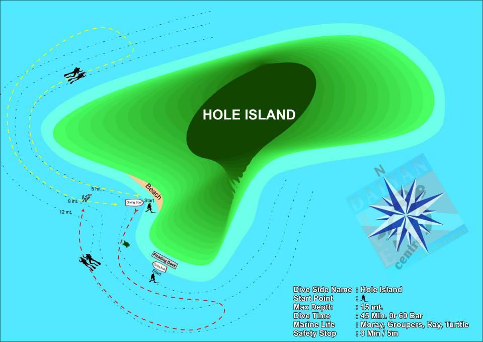 dalyan dive site hole island