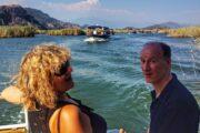 Private Dalyan Boat Trip - cruising Dalyan Channel