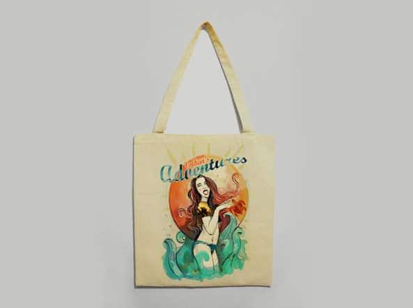 Dalyan Volkan's Adventures Gift Shop Linnen Bag