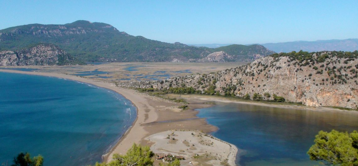 Arguments over iztuzu beach