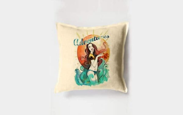 Dalyan Volkan's Adventures Gift Shop Cushion Cover