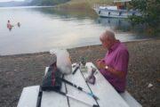 Jimmy's Island - preparing to fish