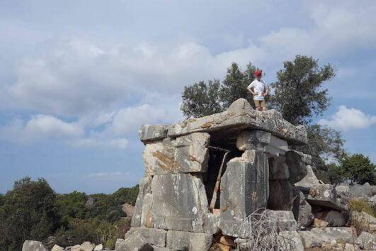 Dalyan trekking - Dalaman Kapidag penninsula - Lycian Tomb