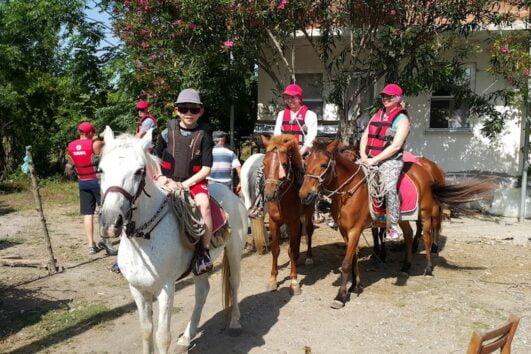 Dalyan Sunset Horse Safari - ready to go