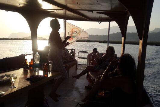 Joyful Boat Ride