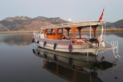 Koycegiz Market with our comfortable double deck boat