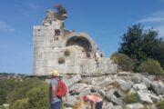 Dalyan trekking - Dalaman Kapidag penninsula - ruins