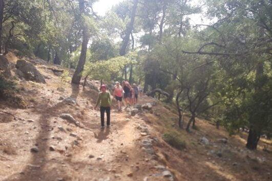 Dalyan trekking - Dalaman Kapidag penninsula - Trekking
