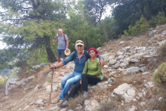 Dalyan trekking - Dalaman Kapidag penninsula - our guides