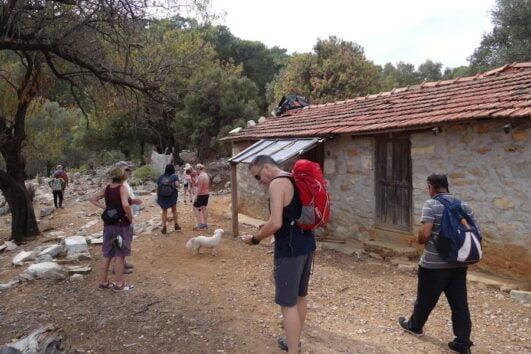 Dalyan trekking - Dalaman Kapidag penninsula - yorum houses