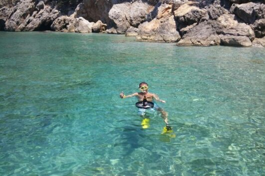 Dalyan Snorkelling - Crystal clear waters