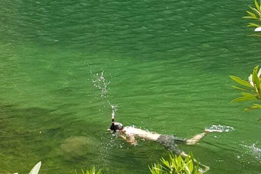 crystal waters of Indus