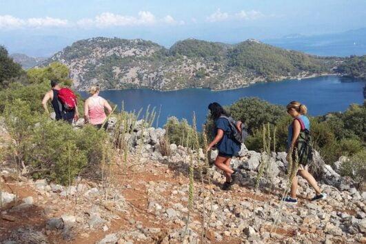 Dalyan trekking - Dalaman Kapidag penninsula - Ancient Lycian Route