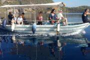 Dalyan trekking - Dalaman Kapidag penninsula - Fisherman crossing us
