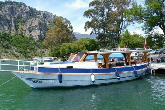 Dalyan Snorkelling -Our boat