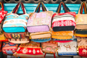 Bags in the market
