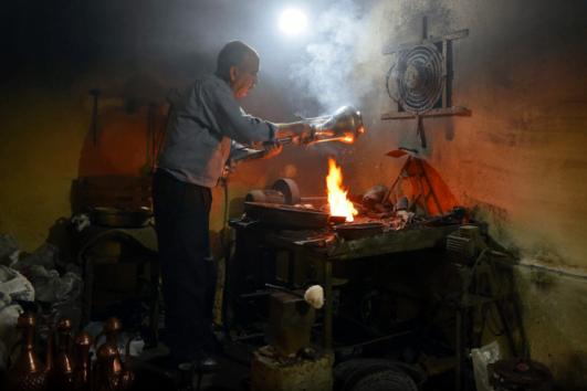 tin Smith at Mugla Arasta Bazaar - 2