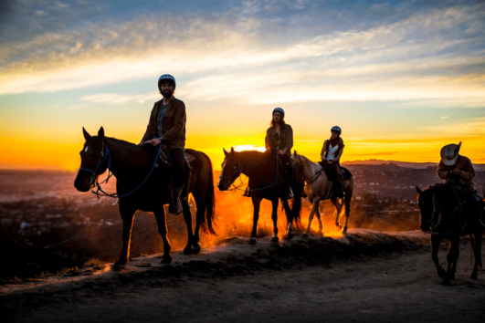 Dalyan Sunset Horse Safari - Riding on sunset