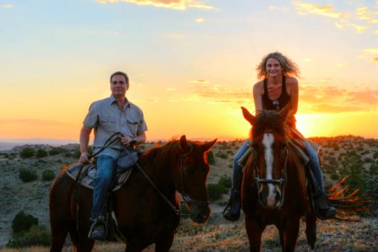 Dalyan Sunset Horse Safari - Fields behind Koycegiz Lake